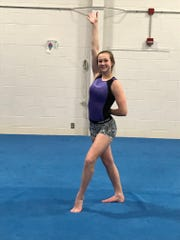 As a veteran leader for the SPASH gymnastics team senior
