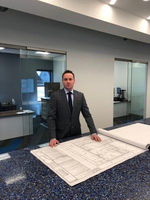 Ryan Murray, president of Orion Interiors in Raritan.