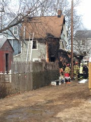 This Highlands home was destroyed by fire on Saturday,