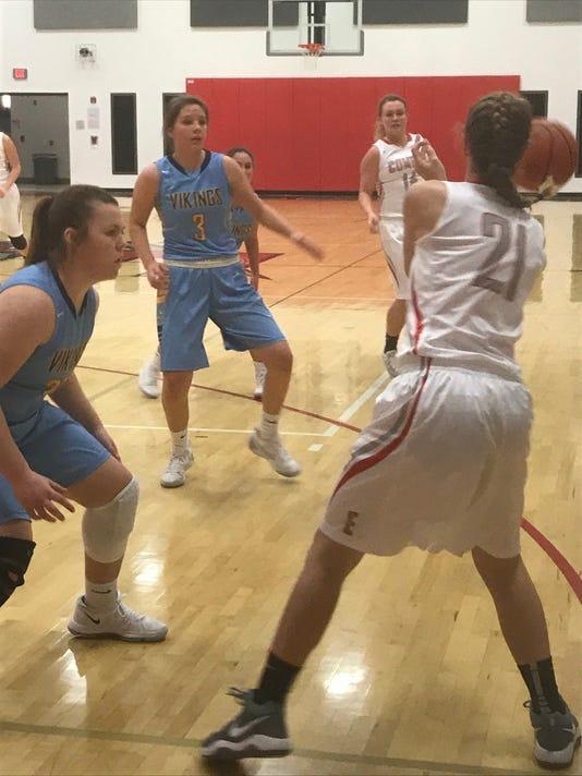 Elgin girls basketball Racheal Schoen