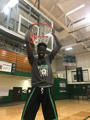 Oshkosh North senior Gout Deng is a key contributor to the top-ranked Spartans' success.