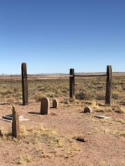 The Sunset Cemetery at Homolovi State Park is all that