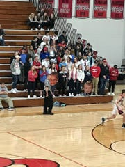 The SPASH student section came to a Division 1 regional