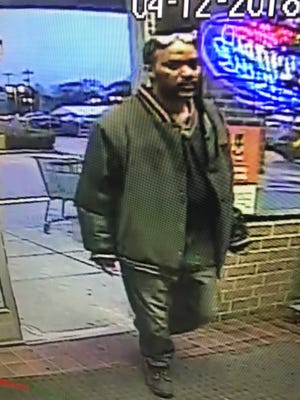 Glendale police are seeking more information about this man, who allegedly stole six bottles of whiskey, dropped three and threatened to hit an employee with one of the unbroken bottles at the Pick 'n Save at 1735 W. Silver Spring Drive on April 12.