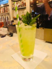 Southside Fizz mocktail served at Ariane Kitchen &