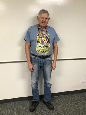 Plover's Sigurd 'Sig' Sandstrom, 78, earned the title of state champion for his age division at the World Association of Benchers and Deadlifters State Championships on April 21 in Wisconsin Dells. He earned medals in the deadlift and bench press.