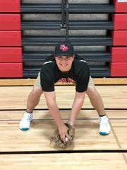 Senior third baseman Cole Wright brings a strong arm and reliable glove along with a quiet intensity to the SPASH baseball team.