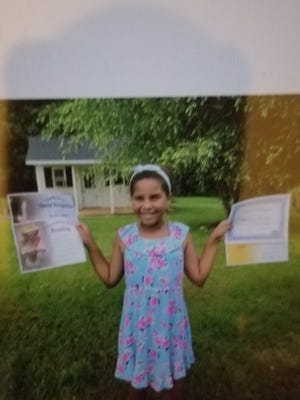 Bre'Asia Thomas, 9, has been missing since 3:30 p.m. Thursday.