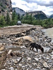 Flooding on the South Fork of the Teton wiped out the