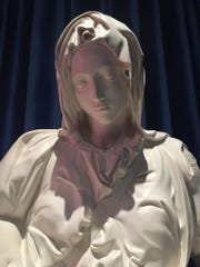 An authorized replica of Michelangelo's Pietà has come to San Buenaventura Mission.
