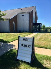 Cornerstone Church in Bear sent 15 teenagers and five adults on a mission trip to Haiti June 30, but their return has been delayed by fuel price riots which broke out this weekend.