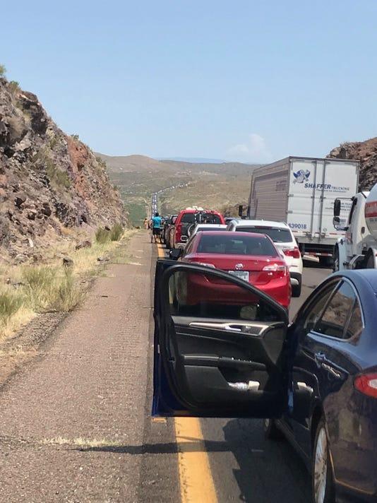 Interstate 17 traffic delays