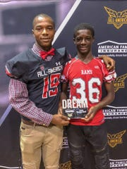 De'Monte Russell receives Under Armour jersey, excited to stay home at Mississippi State