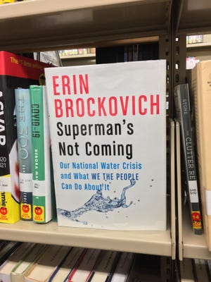 """Superman's Not Coming"" by Erin Brockovich is now available at the Port Jervis Free Library."