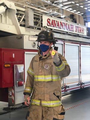 Savannah Fire Department firefighter