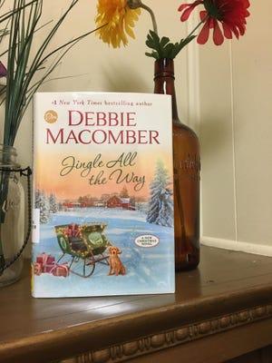 "Debbie Macomber's latest Christmas-themed novel, ""Jingle All the Way."""