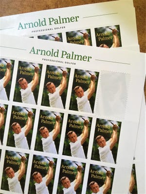 The new Arnold Palmer stamp.