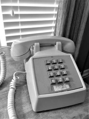 Beware the unwatched telephone when inmates are around.