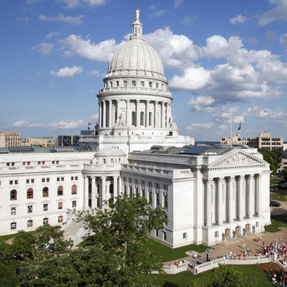 The state Capitol in Madison.
