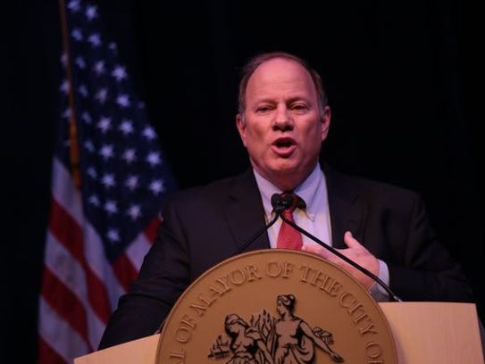 Mayor Mike Duggan delivers his state of the city speech