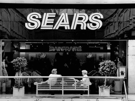 From the archive: Exterior of Sears inside Irondequoit