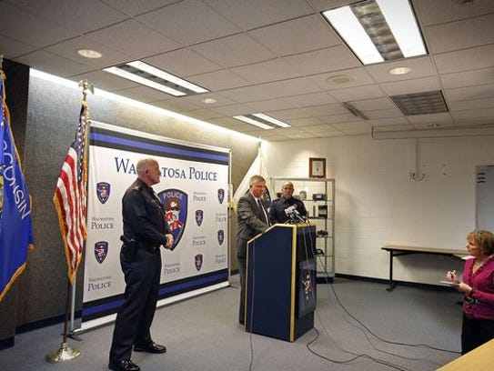 City of Wauwatosa Police Chief Barry Weber addresses
