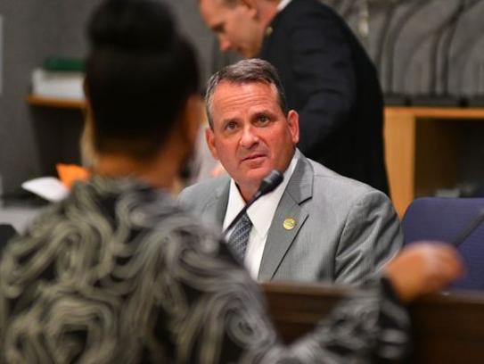 Palm Bay City Manager Gregg Lynk