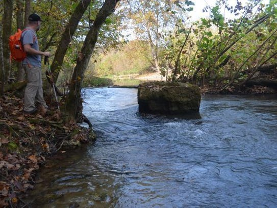 Bryant Creek State Park is located near the town of