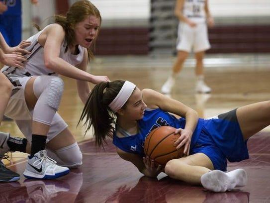 Shore Regional Girls Basketball vs Red Bank Regional