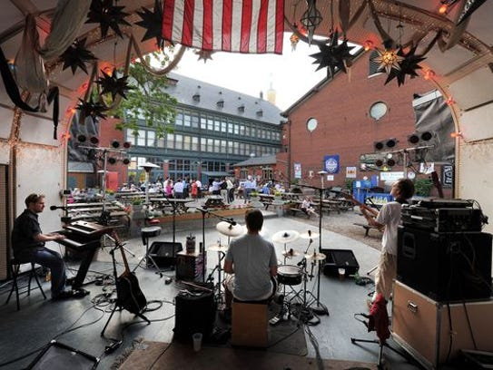 Downtown Indianapolis' most classic beer garden can