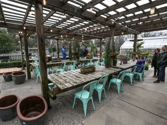 The Beer Garden at Newfields at 4000 Michigan Road