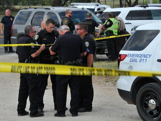 Wichita Falls police taped off a portion of Highway 79 Wednesday afternoon after a suspected escapee from the state hospital stole a Wichita Falls police patrol car and wrecked in a driveway not far away.