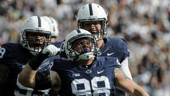 No Penn State senior has endured more than Anthony Zettel (98). The Michigan native will be extra motivated against his home state Wolverines on Saturday.