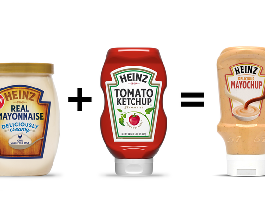 When Heinz introduced Mayochup in Canada, it ran into some trouble.