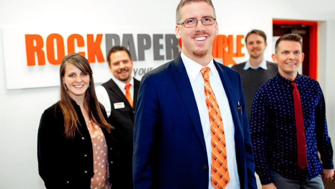 Joshua Adams, 27, is the founder of Rock Paper Simple a company that empowers businesses and organizations by providing web design and branding services to grow their business.