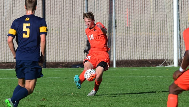 John Chambers was a defender for the Oregon State soccer team last season and started in three games.