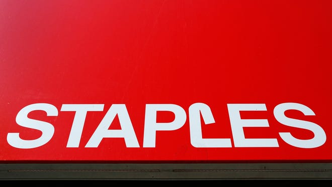 The Staples store in north Springfield will close in February.
