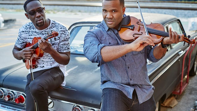 Black Violin, the duo coming to the Kentucky Center.