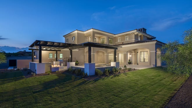 Arizona Coyotes center Derek Stepan has paid $3 million for a new home in the posh Silverleaf neighborhood of north Scottsdale's DC Ranch.