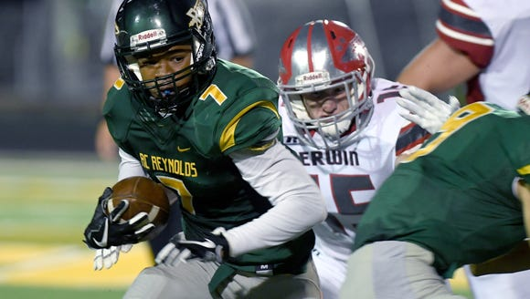 Reynolds defeated Erwin 49-34 in their game at Reynolds
