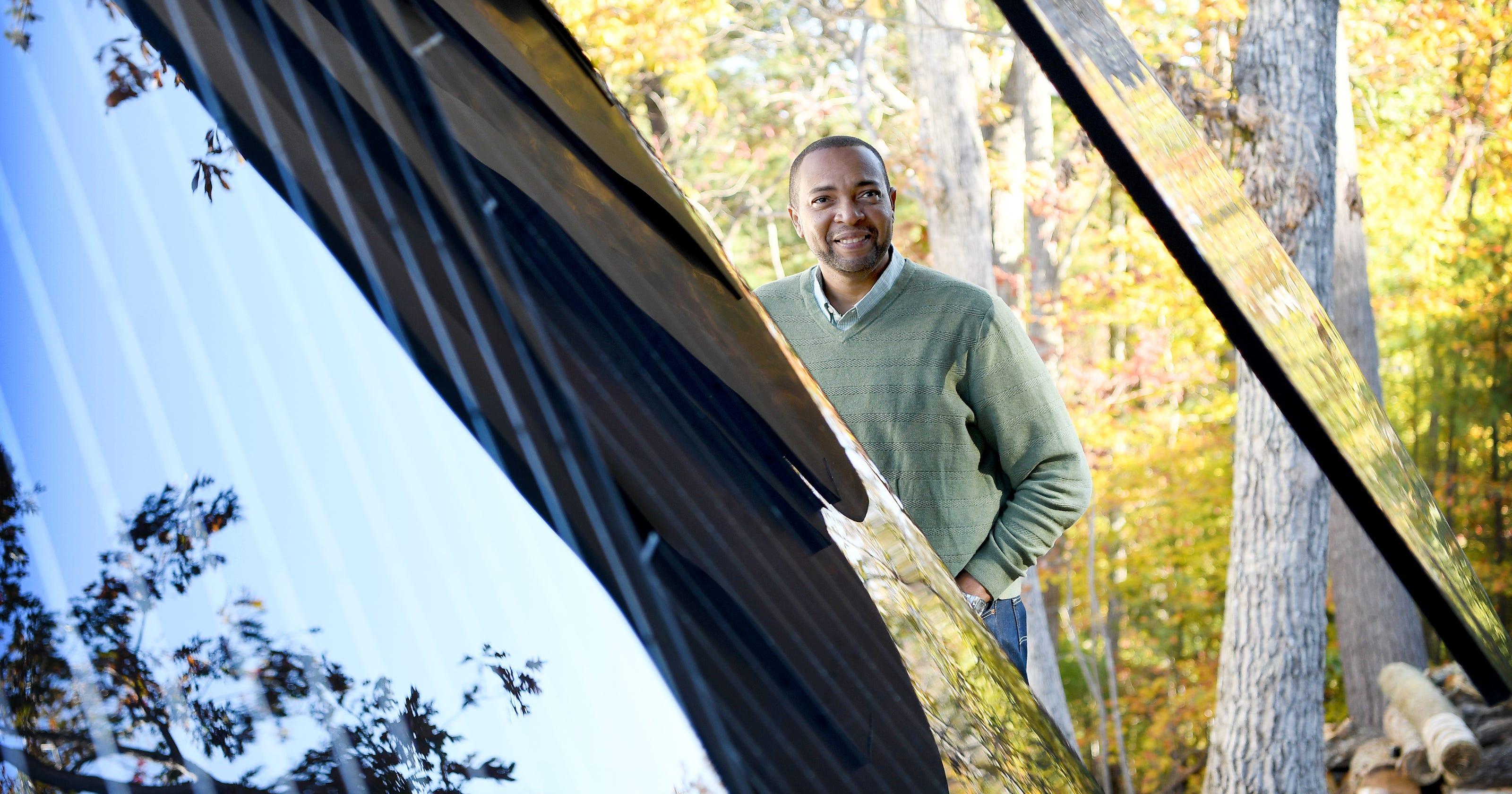 SmartFlower blooms renewable energy ideas in North Asheville
