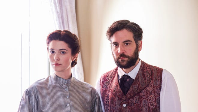 'How I Met Your Mother's Josh Radnor and 'The Returned's Mary Elizabeth Winstead star in the new PBS period drama, 'Mercy Street.'