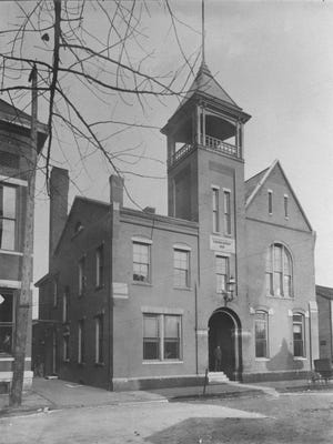 "Evansville's first police station, known as the ""Number Eleven"" building"