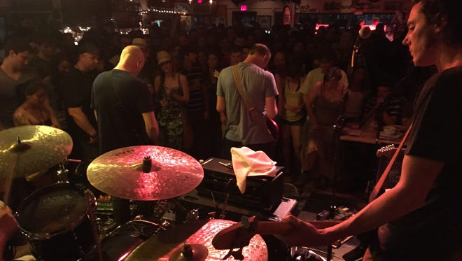 Indie rockers Built to Spill performed an intimate show at Dogfish Head Brewings & Eats in Rehoboth Beach Friday night.