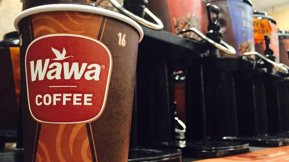 Coffee at WaWa.