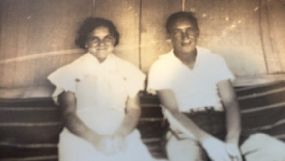 Siblings Delia and Wayne Clark forged a close bond