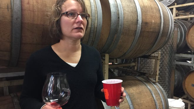 Pattie Björnson, co-owner and winemaker at Björnson Vineyards, talks about her wines.