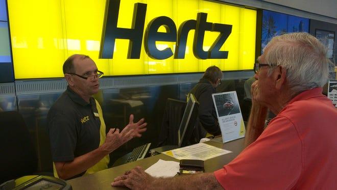 Hertz has returned to the Fortune 500 list.