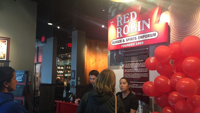 Red Robin is open at The Empire Mall.