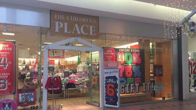 The Children's Place will change to an outlet at Marketplace Mall in January